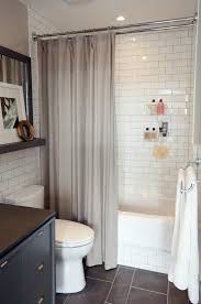 shower curtain ideas for small bathrooms king guest bathroom small bathroom subway tiles and light walls