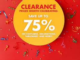 clearance event discount supplies city