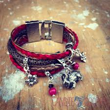 bracelet leather cord images This and that diy scrappy multi strand leather bracelets candie jpeg