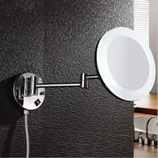 4 led lights mirror circle magnifying mirror light wall mount canada best selling magnifying