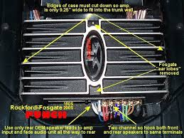 rockford fosgate punch 150 wiring diagram 28 images 150