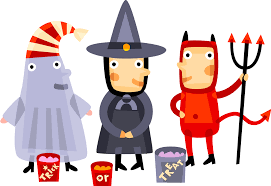 kids happy halloween clipart animated halloween cartoons