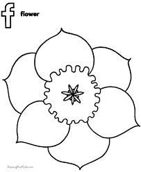flower sheets color kid 024