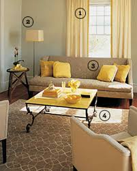 Living Room Colors Grey Couch Yellow Rooms Martha Stewart