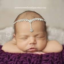 rhinestone headbands newborn rhinestone tie back newborn rhinestone headband baby