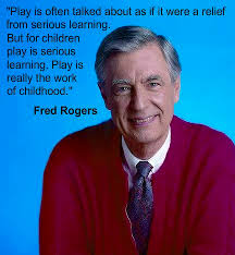 mr rogers on the importance of play loved mr rogers when i was