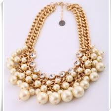 trendy pearl necklace images 2018 multilayered luxury pearl necklace adorned with crystals top jpg