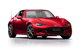 mazda roadster mazda rolls out a mildly revised 2018 mx 5 miata in tokyo