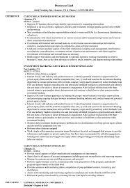 sle of resume client relationship specialist resume sles velvet
