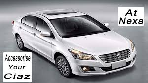 Design By Yourself by 2017 Ciaz Customise By Yourself At Nexa L Kits Detail In Depth