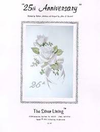 silver lining 25th anniversary cross stitch pattern 123stitch com
