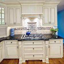 kitchen fabulous stone kitchen backsplash with white cabinets