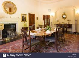 dining room greenway house manor of agatha christie greenway