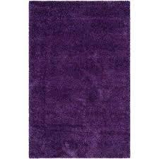Purple Shag Area Rugs Purple Area Rugs Rugs The Home Depot
