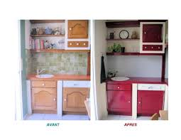 relooking cuisine avant apr鑚 idée relooking cuisine repeindre sa cuisine avant apres