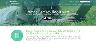 autodesk launches interactive autodesk design academy for 3d