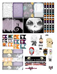 Free Halloween Printable by Planner Pickett Nightmare Before Christmas Free Halloween Planner