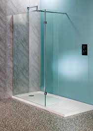 1700 x 800mm walk in shower wet room pack u0026 tray 10mm glass panels