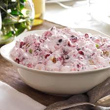 cranberry salad recipe taste of home