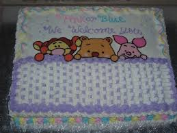 winnie the pooh baby shower cake marble cake with chocolat u2026 flickr