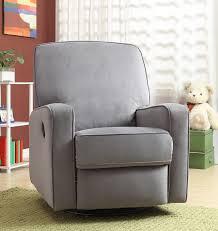 Black Rocking Chair For Nursery Small Rocker Recliner For Nursery Thenurseries