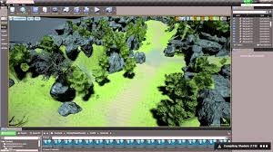 map login nature forest theme login lobby and a basic map ue4