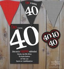 40th birthday invitations 40th birthday invitations female new
