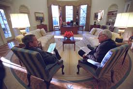 in newly released photos a rare glimpse of cheney unscripted