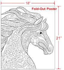 animal world coloring book with fold our poster and music cd
