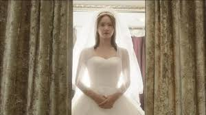 Marriage Not Dating  Episode      Dramabeans Korean drama recaps Dramabeans Curtains part  and a luminous Jang mi stands in a gorgeous frothy confection of a wedding dress  as Ki tae     s mother smiles at her approvingly