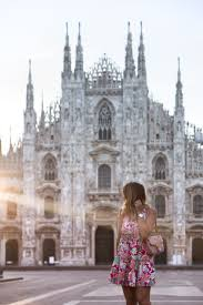 duomo milan what i wore and the best time to visit the london thing