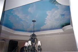 tommy simpson the artist galleries page call 843 997 7307 mural ceiling in residential bathroom painted ceiling clouds in dining area of residence myrtle beach sc