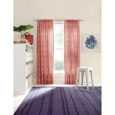 pictures of curtains red blackout curtains drapes window treatments the home depot