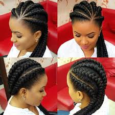 red cornrow braided hair ghana braids hairstyles for black women are perfectly ethnic and