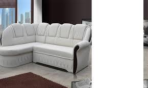 canapé d angle tissu beige canape angle avec couchage tissu beige ou pu blanc