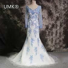 Blue Wedding Dress Popular Wedding Gown Photos Buy Cheap Wedding Gown Photos Lots