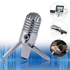 microphone de bureau samson meteor mic studio d enregistrement de bureau microphone à