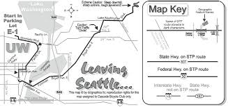 Seattle Bus Routes Map by The 35th Annual Seattle To Portland Bike Ride Leaves Uw Saturday