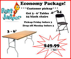 table chairs rental chair rentals in orlando
