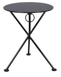 Black Metal Bistro Table Mobel Designhaus Café Bistro 3 Leg Folding