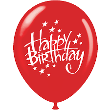 happy birthday balloon balloons printed happy birthday with 1 side nd balloon