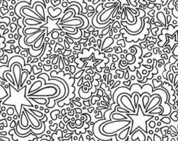 hearts printable coloring printable