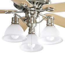 Ceiling Fan Lights Pp252109wa Air Pro Large Fan 52 To 59 Ceiling Fan Brushed