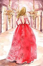 instant downloard print watercolor fashion illustration