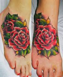 skull and pink roses tattoo 13818151484ngk8 jpg 411 586 tattoo