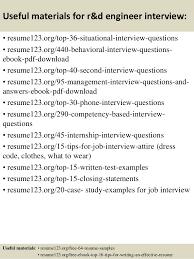 Test Engineer Resume Template Top 8 R U0026d Engineer Resume Samples