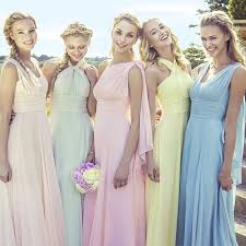mismatched bridesmaid dresses how to master the trend hitched co uk