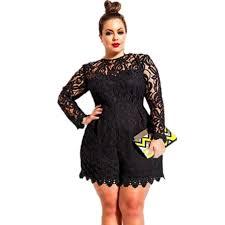 black plus size jumpsuits cheap mamelucos mujer 2016 autumn black plus size
