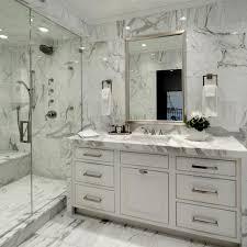 Carrara Marble Floor Tile Bathroom Carrera Marble Bathroom Mosaic Carrara Marble Tile