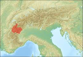 Swiss Alps Map Graian Alps Wikipedia